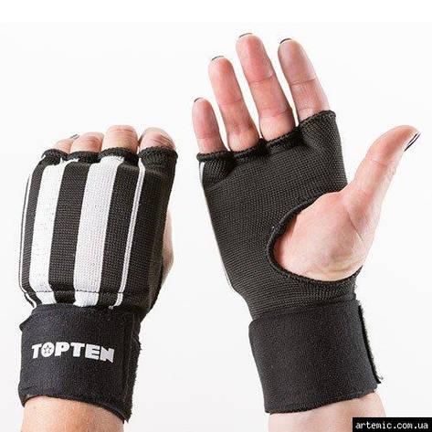 Накладки для единоборств TopTen, черный, рр.S, M, L, XL, фото 2