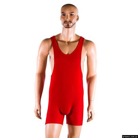 Трико борцовское, размер 36-54, красный, фото 2