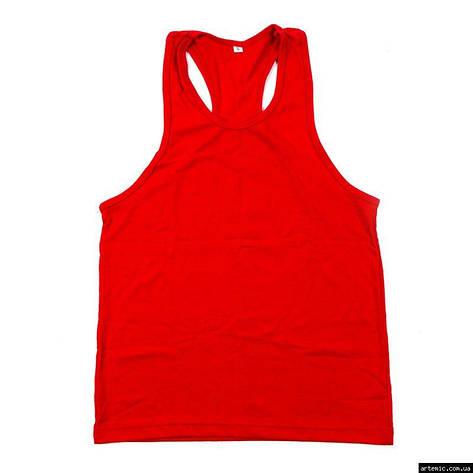 Майка боксерская, красный, синий, WS-8001, фото 2