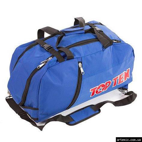 Сумка спортивная Top10, синий, 58*27*29 см, фото 2