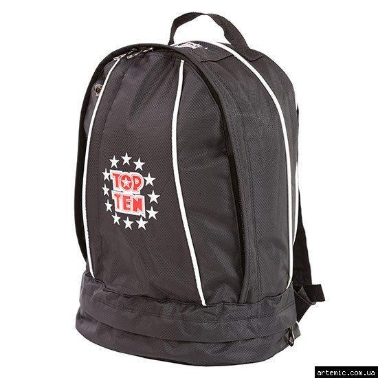 Рюкзак спортивный Top10, черный, 41*33 см