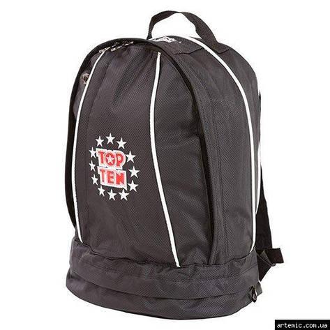Рюкзак спортивный Top10, черный, 41*33 см, фото 2