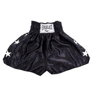 Шорты для тайского бокса, 9007, черный, размер S, M, L, фото 2
