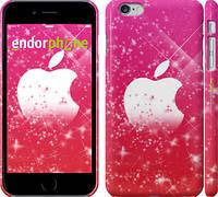 "Чехол на iPhone 6 Plus pink apple ""1620c-48"""