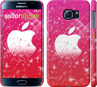 "Чехол на Samsung Galaxy S6 G920 pink apple ""1620c-80"""