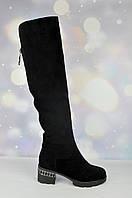 Зимние женские высокие сапоги Lady Marcia