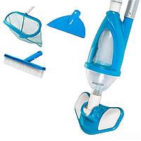 Набор для чистки бассейна Intex 28003, пылесос для очистки дна (от 3 028 л/ч)