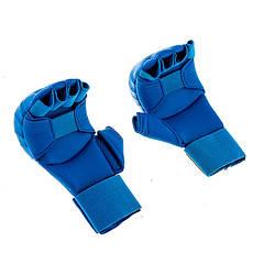 Накладки для карате BWS  XL синий, фото 3
