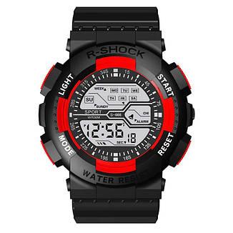 Стильные спортивные электронные мужские часы, фото 2