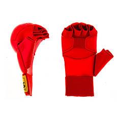 Накладки для карате BWS  XL красный, фото 2