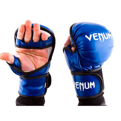 Перчатки Venum MMA, 415 Flex, XLсиний, фото 2