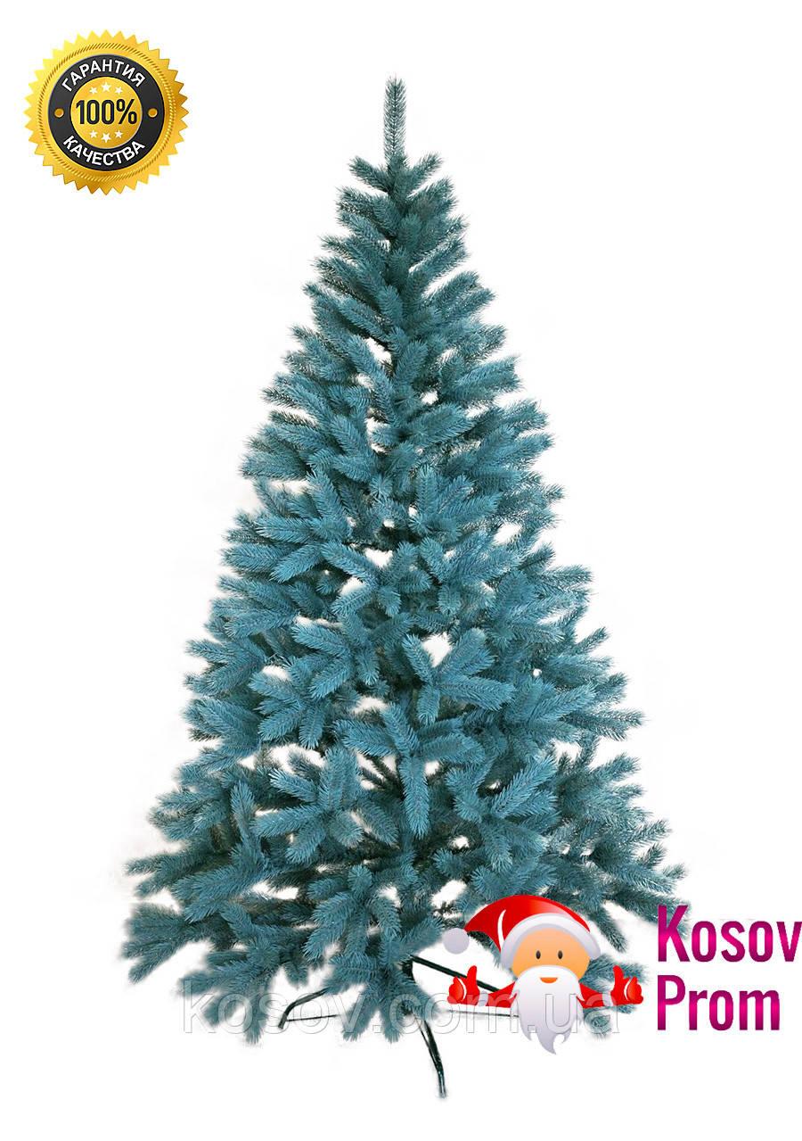 """Литая елка """"Премиум"""" (голубая) 1.1м"""