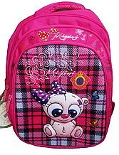 Рюкзак школьный ортопедический розовый 066Z