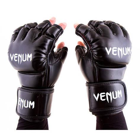 Перчатки Venum MMA, 364 Flex, S, M, L, XL, черный, фото 2