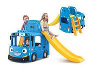 """Детская площадка 3 в 1 """"Синий автобус"""" SP0394"""