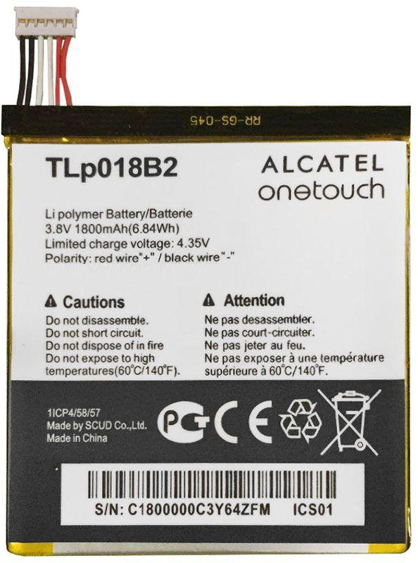 Аккумулятор Alcatel One Touch 6030D Idol / TLp018B2 (1800 mAh) Original