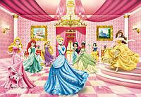 Фотообои бумажные на стену 368х254 см 8 листов: Принцессы, Зал для балла.  Komar 8-476