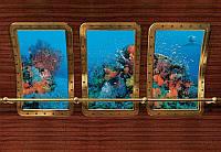 Фотообои бумажные на стену 368х254 см 8 листов: Подводный мир . Komar 8-888