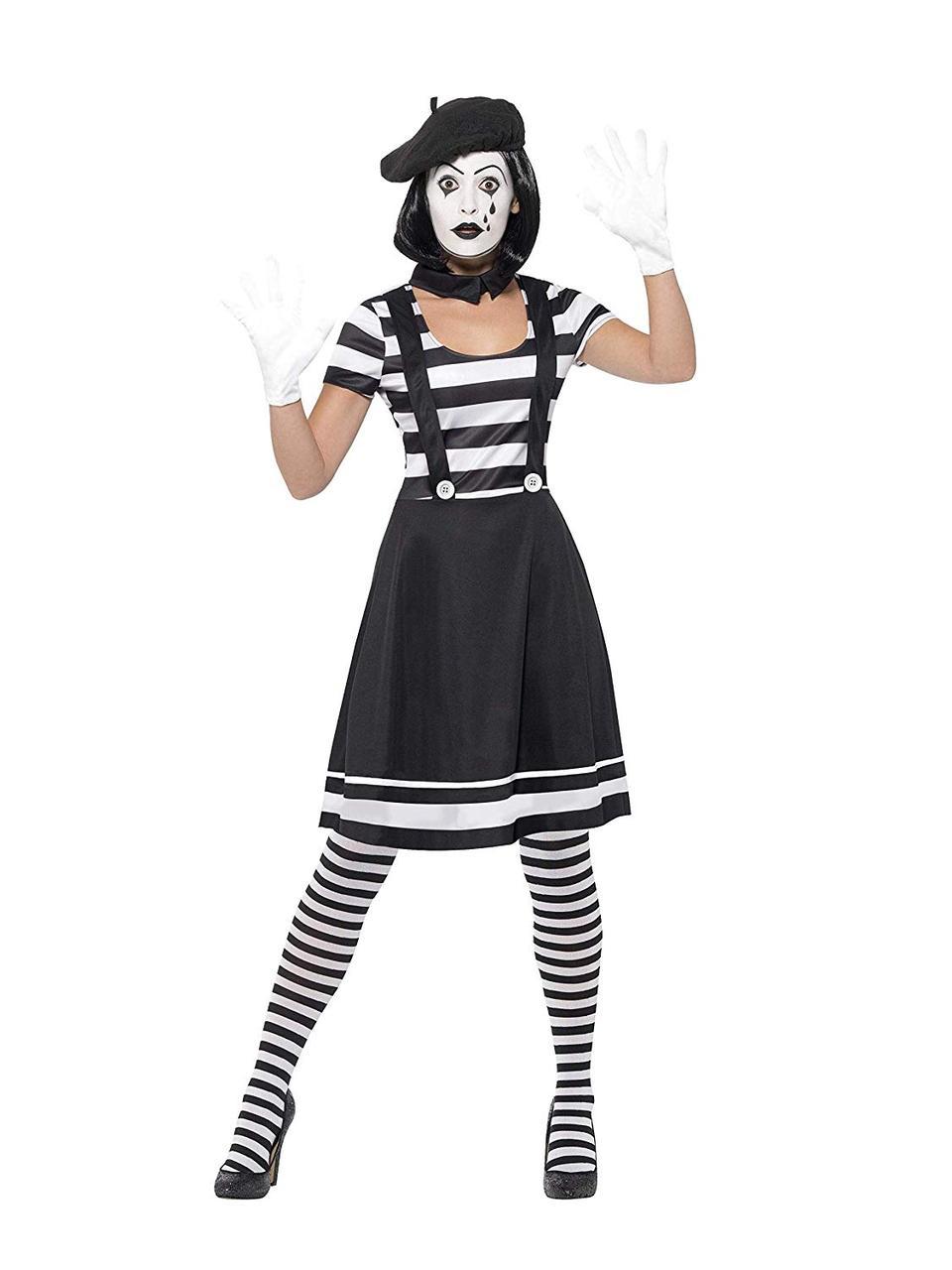 Smiffys 24627S - жіночий костюм для пантоміми