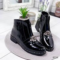 Ботинки женские Vivas черные , женская обувь