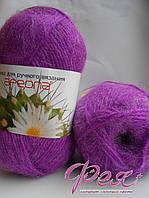 Пряжа полушерсть №16 Ареола Пурпурный