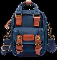 Мини рюкзак - сумочка Doughnut синий, фото 1