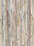 Фотообои флизелиновые на стену 184х250 см 4 листов: Винтажное дерево. Komar  0NW-910