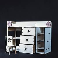 Кровать-комната для куклы Барби