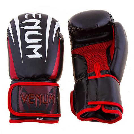 Боксерские перчатки Venum, DX, 8oz черный, фото 2