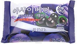 Мыло с легким пилинг-эффектом Juno Peeling Soap Juno Perfume Peeling Soap Acai Berry