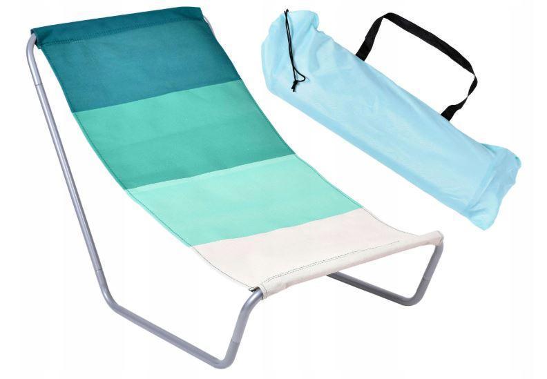 Раскладной пляжный лежак BLUE