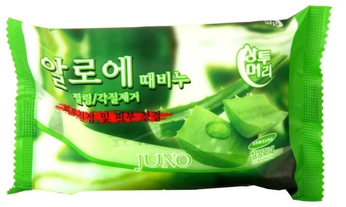 Мило з легким пілінг-ефектом Juno Peeling Soap Juno Peeling Soap Aloe 150 г