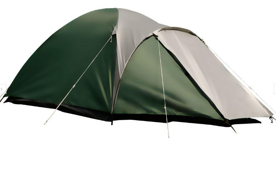 Туристическая палатка для 3 человек (Зеленый)