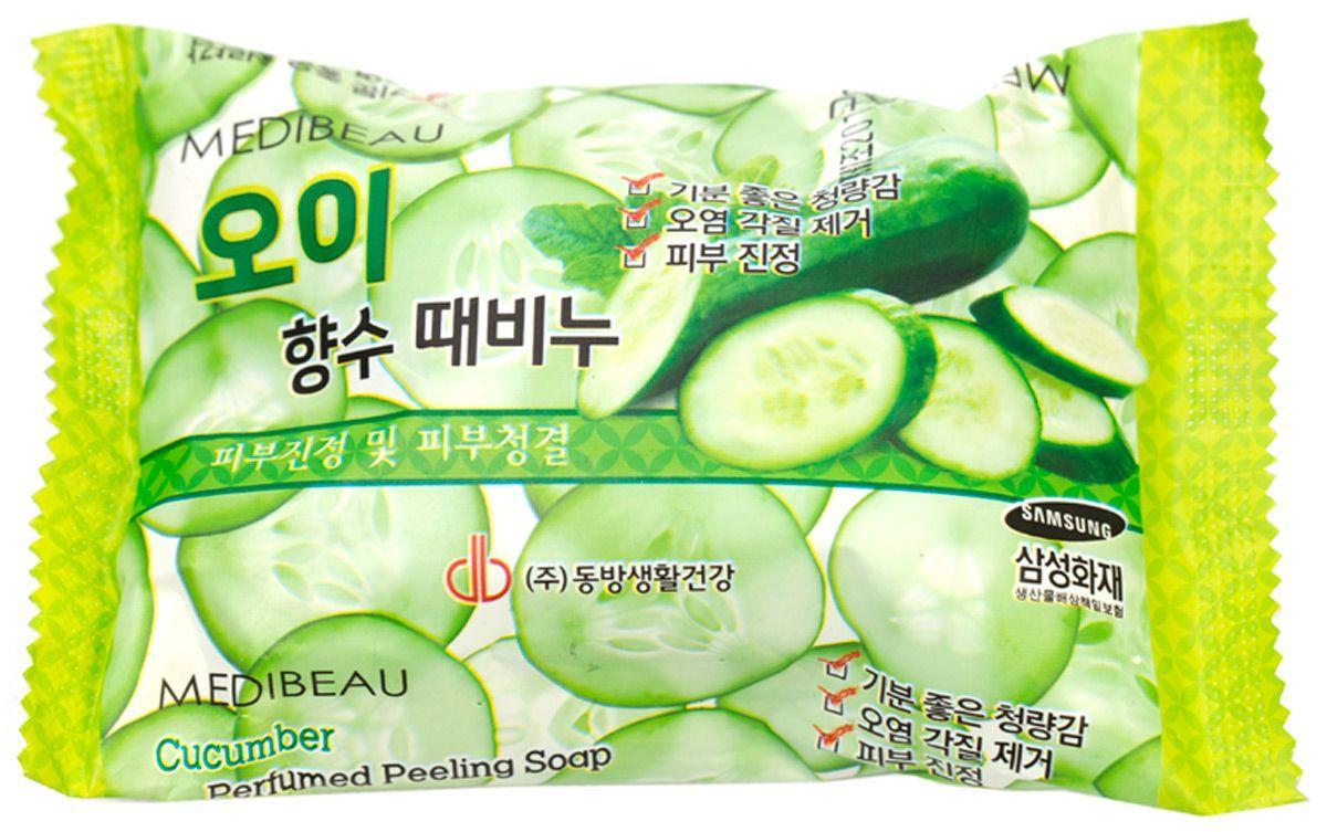 Мыло с легким пилинг-эффектом Juno Peeling Soap Juno Perfume Peeling Soap Cucumber