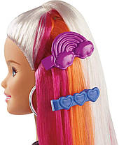 Кукла Барби Радужное сияние волос Радужная и Блестящая Barbie Rainbow Sparkle Hair Doll, фото 2