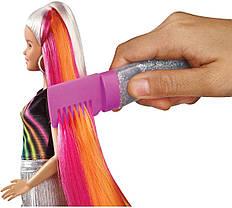 Кукла Барби Радужное сияние волос Радужная и Блестящая Barbie Rainbow Sparkle Hair Doll, фото 3