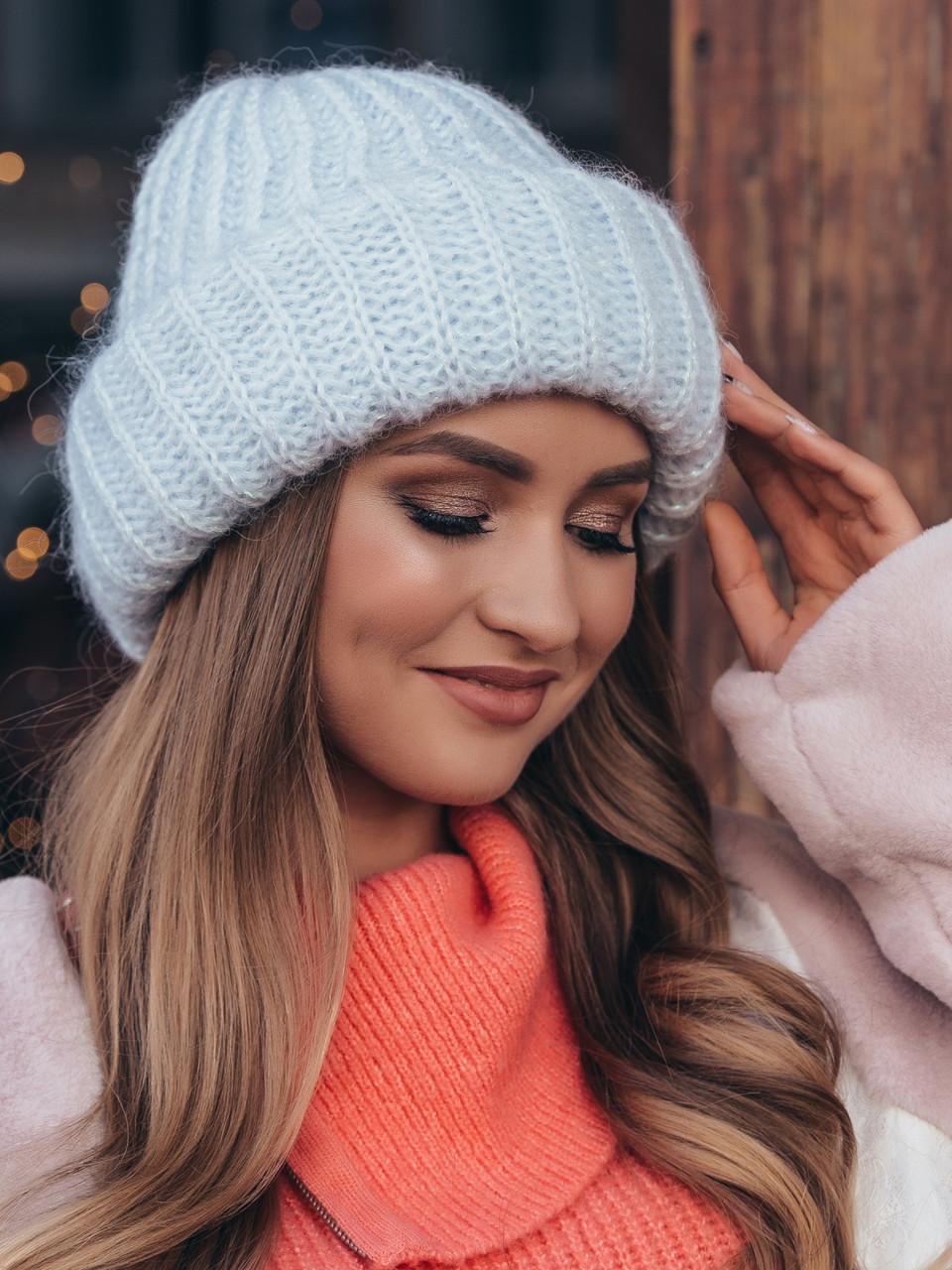 Зимняя женская шапка «Ксенія»