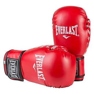 Боксерские перчатки Ever, DX-2218, 12oz, красный, фото 2
