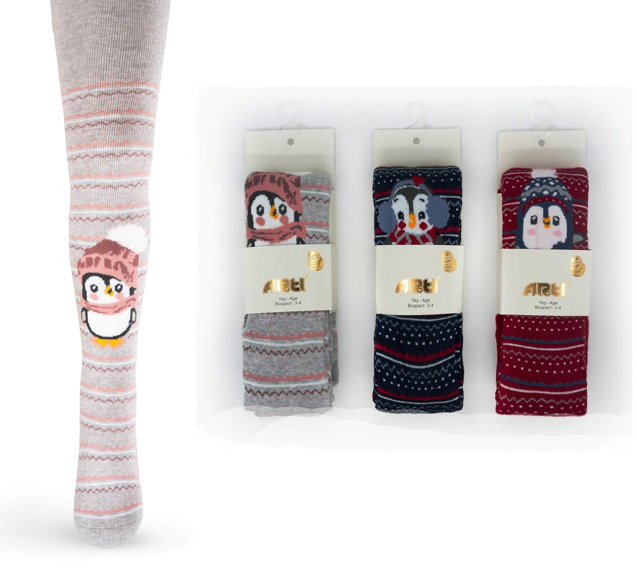 Махровые колготки для девочек 7-8 лет TM Arti оптом Турция 5489612730106