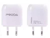 СЗУ Remax Proda RP-U21 1.0A ( 2 USB) white
