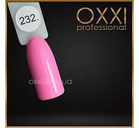 Гель лак Oxxi № 232(нежно-розовый, эмаль)