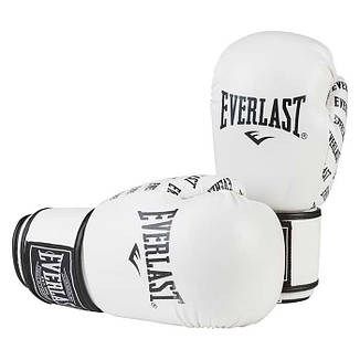 Боксерские перчатки Ever, DX-2218, 10oz, белый, фото 2