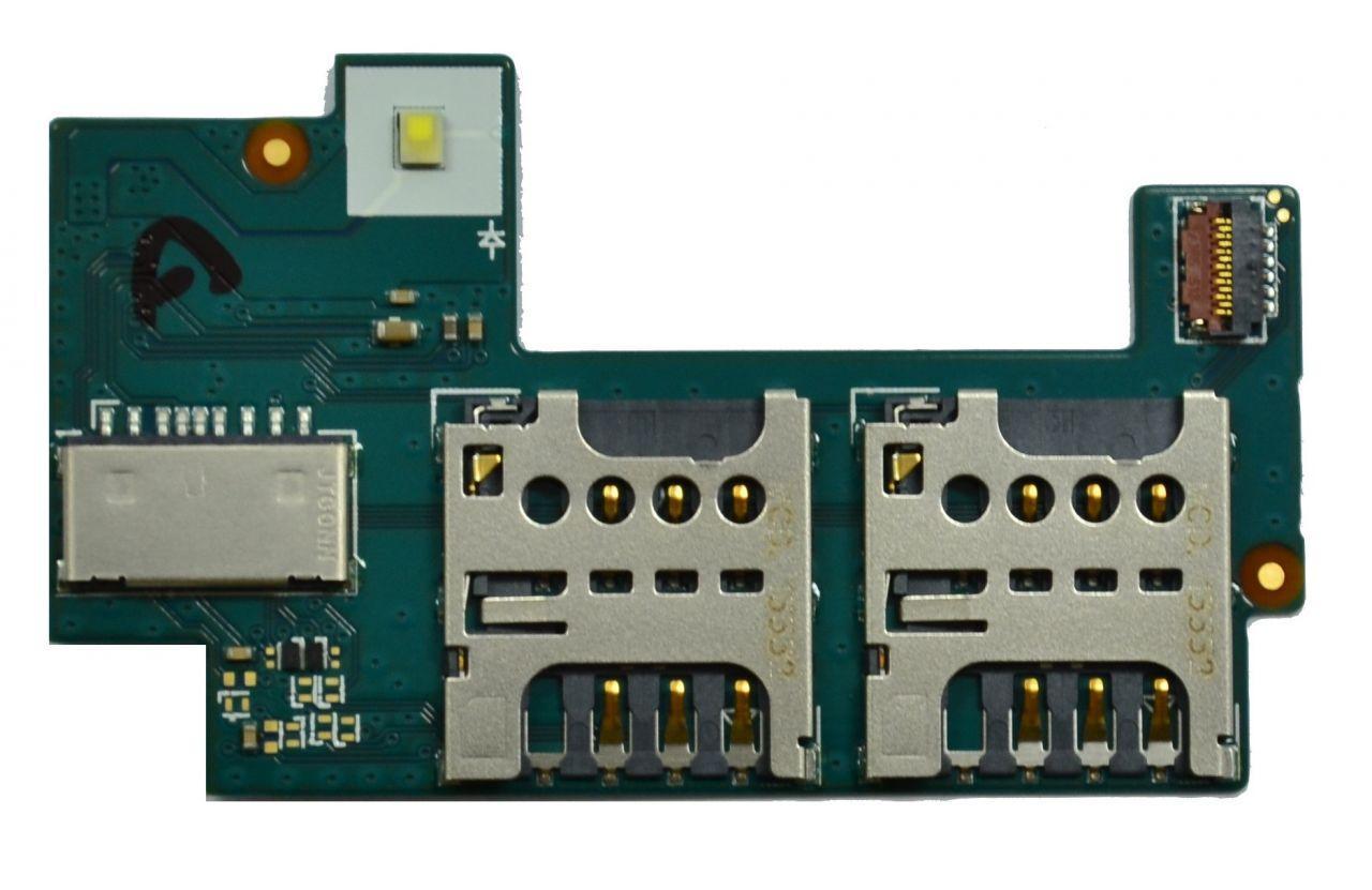 Разъем SIM-карты и карты памяти Sony C2304 /  C2305 S39h Xperia C / C2306