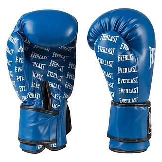 Боксерские перчатки Ever, DX-2218, 8oz синий, фото 2