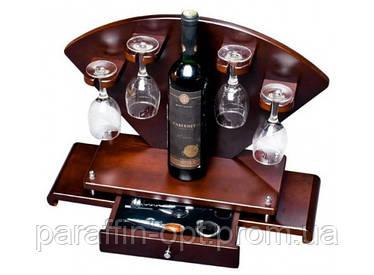 Мини - бар с приборами Сомелье + бокалы