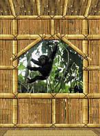 Фотообои на плотной полуглянцевой бумаге для стен 194*270 см из 4 листа:  Детские, Домик на дереве