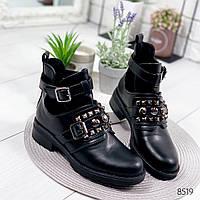 Ботинки женские Close черные , женская обувь