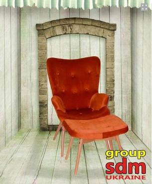 Кресло Флорино с оттоманкой, фото 2