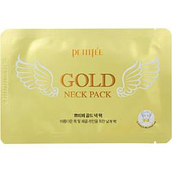 Гідрогелеві патчі з золотом для підтяжки шиї Petitfee Gold Neck Pack