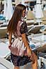 Женский шелковый халат с пижамой 524 ерх, фото 2